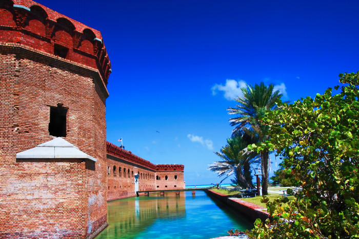 13. Fort Jefferson, Dry Tortugas National Park, Key West