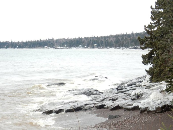 9. Cascade River State Park along the North Shore looks beautiful with a new layer of ice and snow.