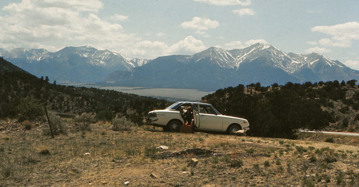 "3. ""Trout Creek Pass Elevation: 9,346' - 28 May 1972."""