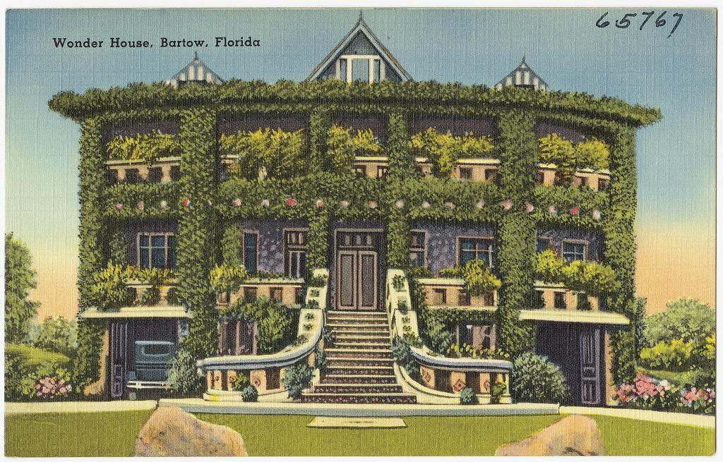 the wonder house a forgotten florida landmark. Black Bedroom Furniture Sets. Home Design Ideas