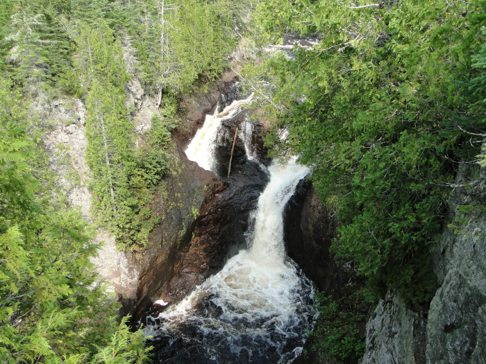 5. Devil's Kettle on the Brule River is mostly dangerous because we don't know where the waterfall goes. A fall into the abyss would likely be fatal.