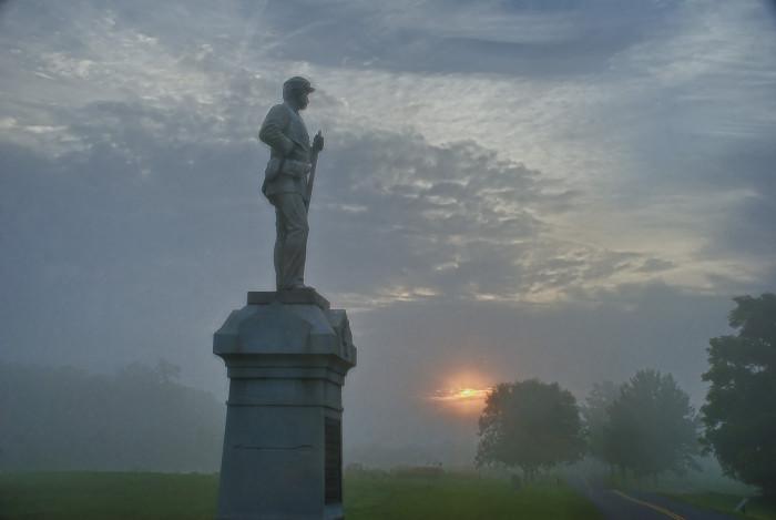 3) Antietam Battlefield, Sharpsburg