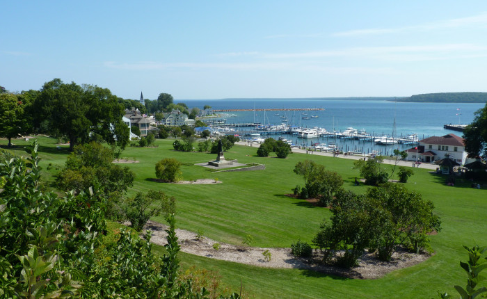 4) Take in the rich history of Fort Mackinac.