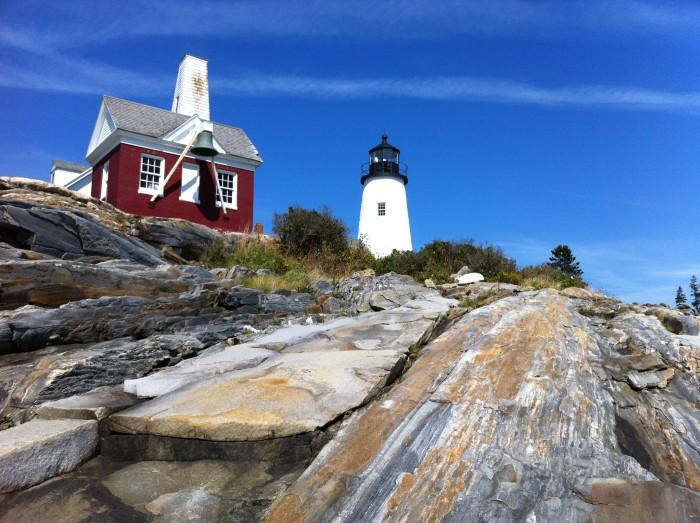 4. ...to Pemaquid Lighthouse in Pemaquid...
