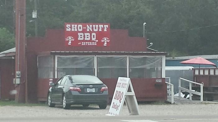 7. Sho Nuff BBQ, Picayune
