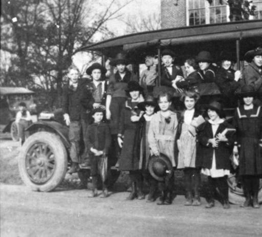 8) 1921 saw the beginning of the Smithwood schoolbus