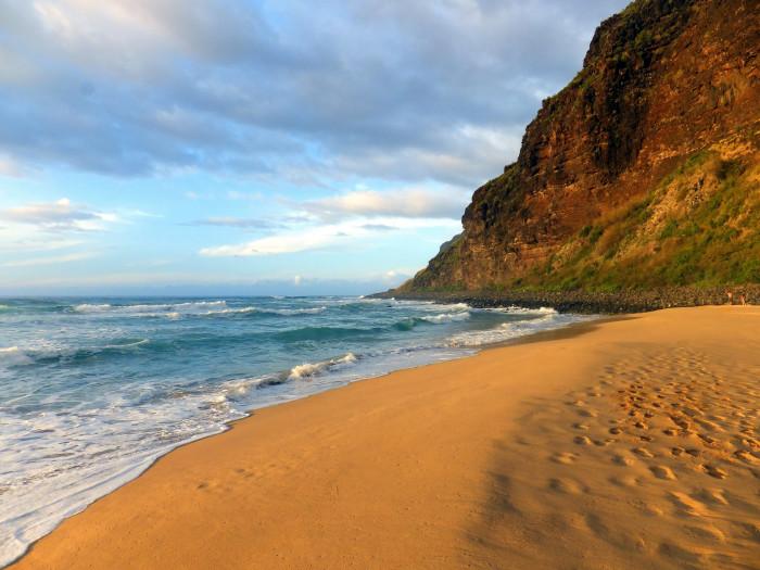 8) Polihale Beach