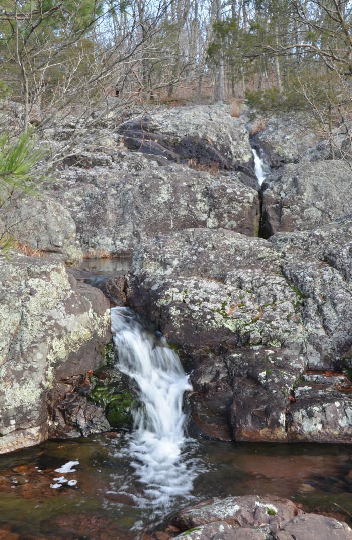 Above Mina Sauk Falls