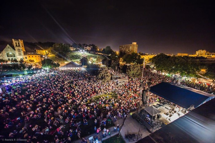 8.Trails West Festival, An Arts and Music Festival, Civic Center Park, St. Joseph