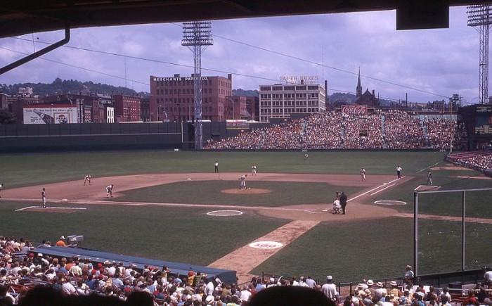12. Crosley Field in Cincinnati