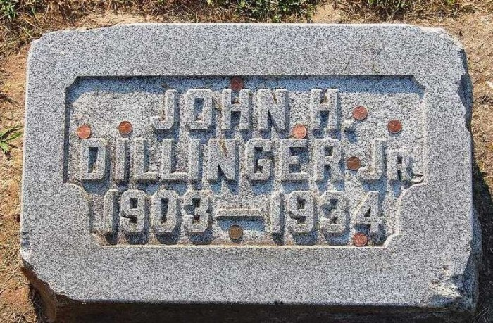 3. John Dillinger's Fortress-Like Grave In Indianapolis.
