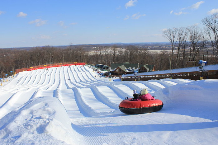The 10 Best Places To Go Sled Riding In Pennsylvania This