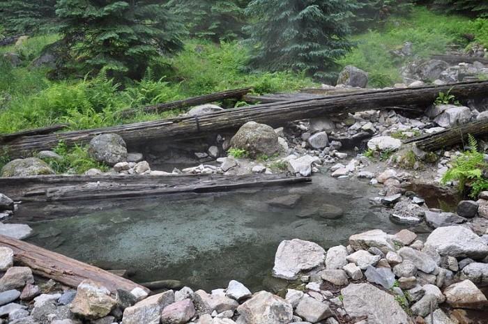 8. Stanley Hot Springs