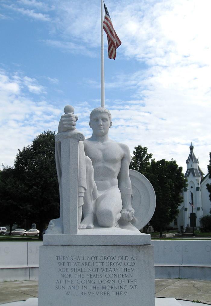 1.  Whispering Statue