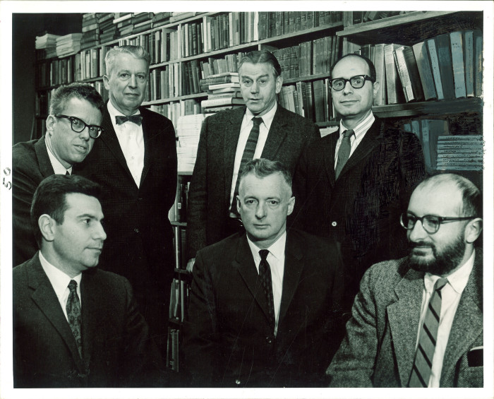 5. These gentlemen are faculty members from the Iowa Center for Modern Letters.