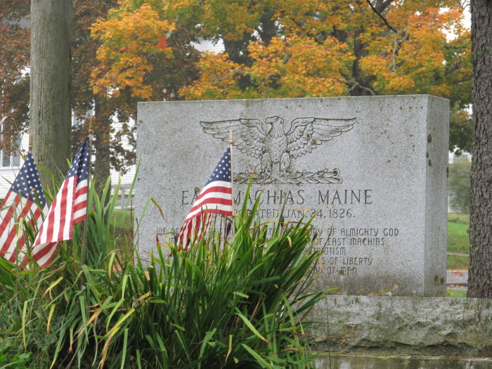 4. Maine was home to the first Naval battle of the Revolutionary War.