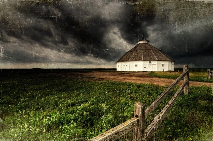 "11. ""Kansas Round Barn"""
