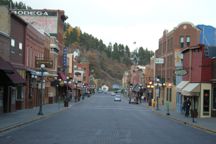 Main Street Deadwood - Charming Small Towns SD