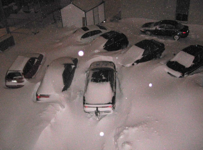"""4. """"I know this is Maine, but exactly how much snow must fall before I can reasonably say I'm not coming into work?"""""""