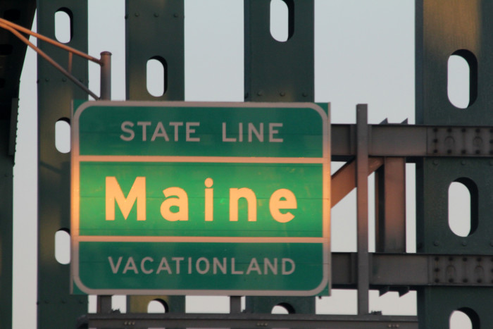 10. Maine is the only state that is simple and uncomplicated.