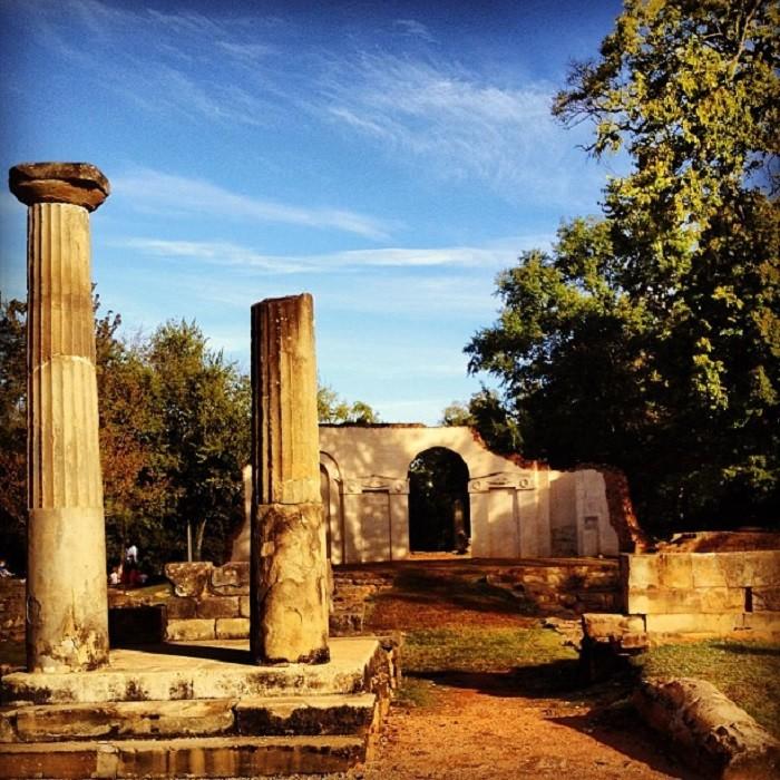 1. Old Capitol Building Ruins at Capitol Park - Tuscaloosa, AL