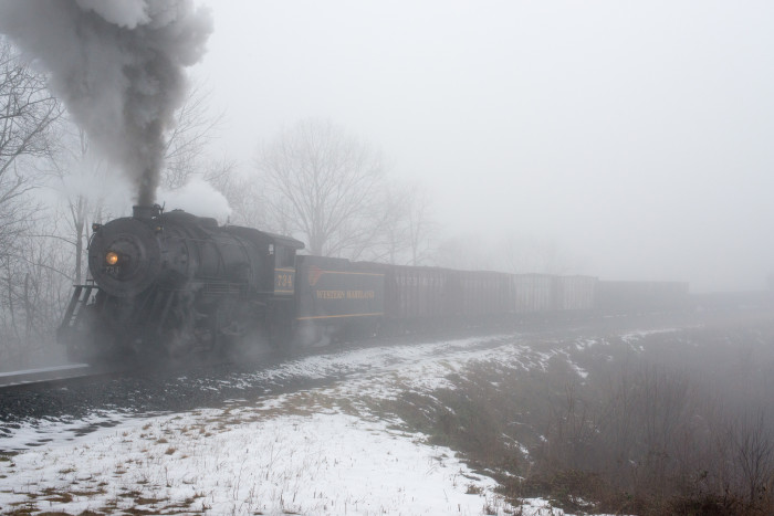 8) The Western Maryland Scenic Railroad