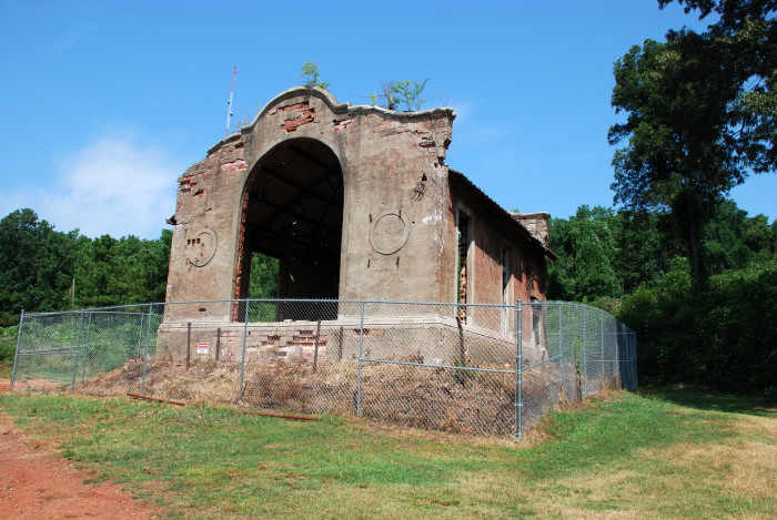 2. Songo Mine Hoist House Ruins at Red Mountain Park - Birmingham, AL