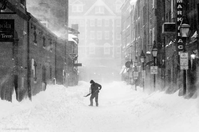 4) A snow shovel.