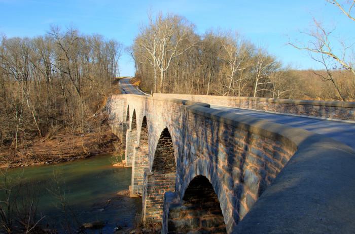 8) LeGore Bridge, Woodsboro