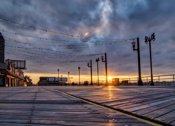 8. Spanning 5.5 miles, Atlantic City has the longest boardwalk in the world.