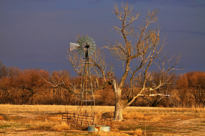 12. There's something very Nebraska and very beautiful about old windmills.