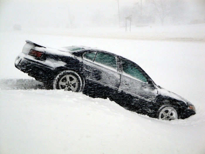 9.  We can get our own cars out of ditches.