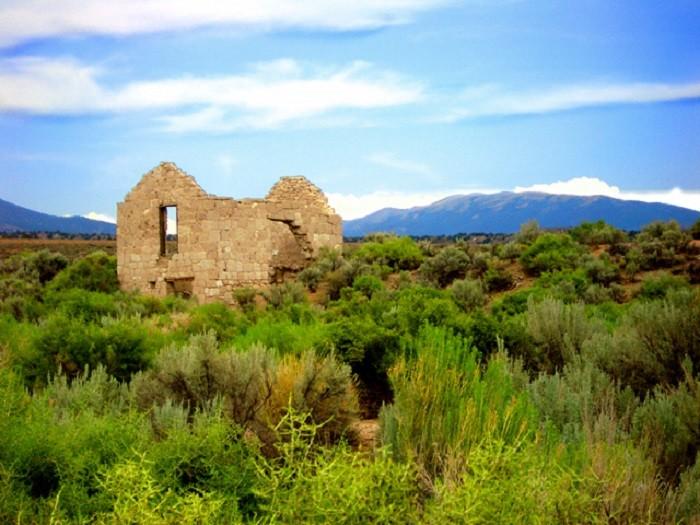 6. A back country ruin in Esmeralda County, Nevada.