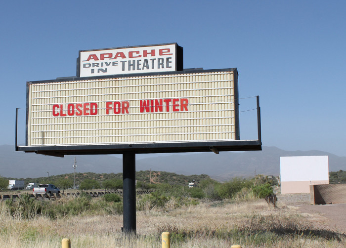 4. Drive-In Theatres
