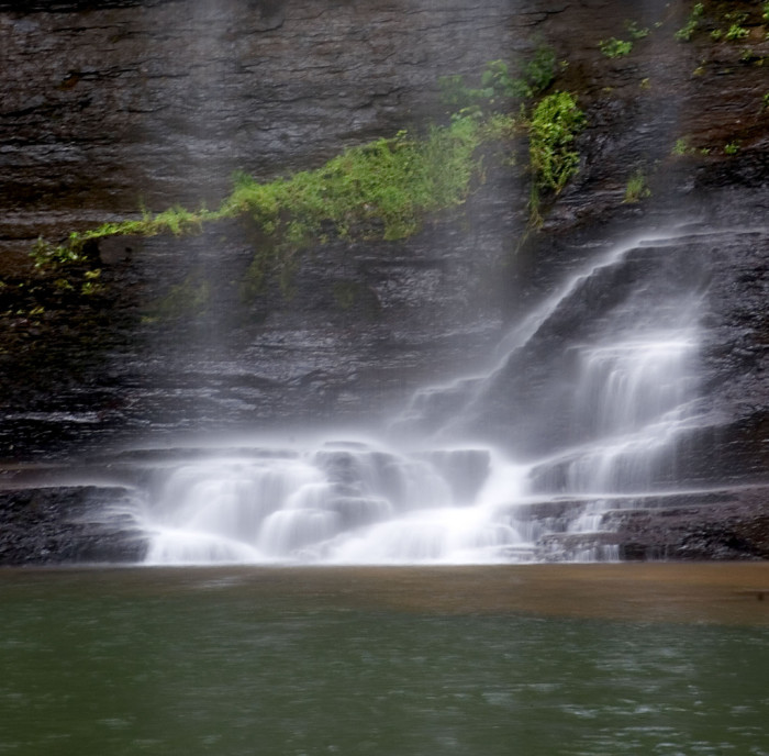 9. ...Cloudland Canyon Falls are still stunning.