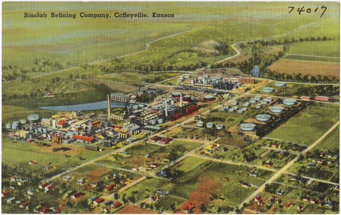 "9. ""Sinclair Refining Company, Coffeyville, Kansas."""