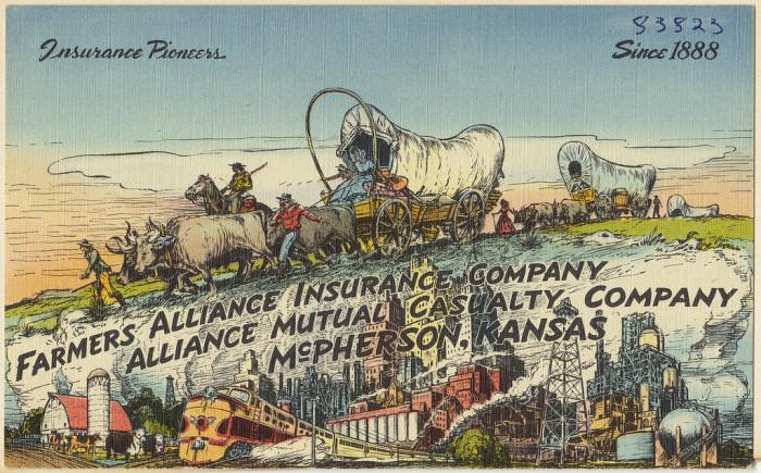 "5. ""Farmers Alliance Insurance Company, Alliance Mutual Casualty Company, McPherson, Kansas."""
