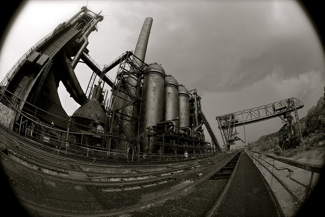 4. Blast furnaces provide some of the most unique scenery in our state. These Carrie Furnaces stand in Rankin.