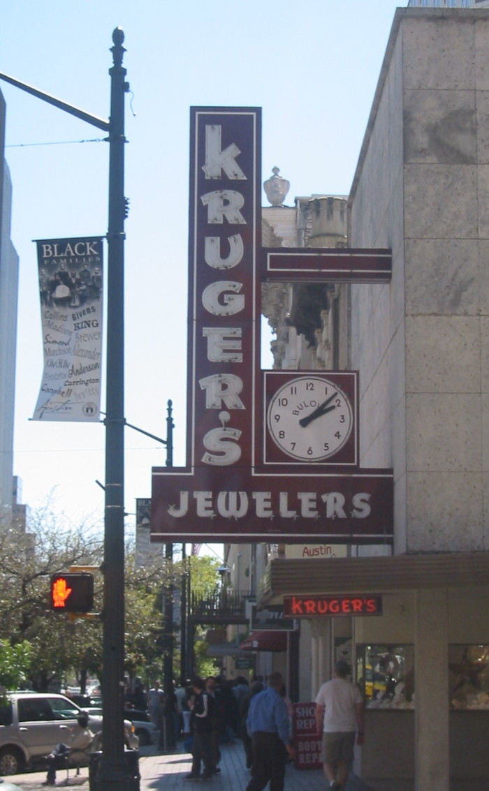 7. Kruger's Jewelers (Austin)