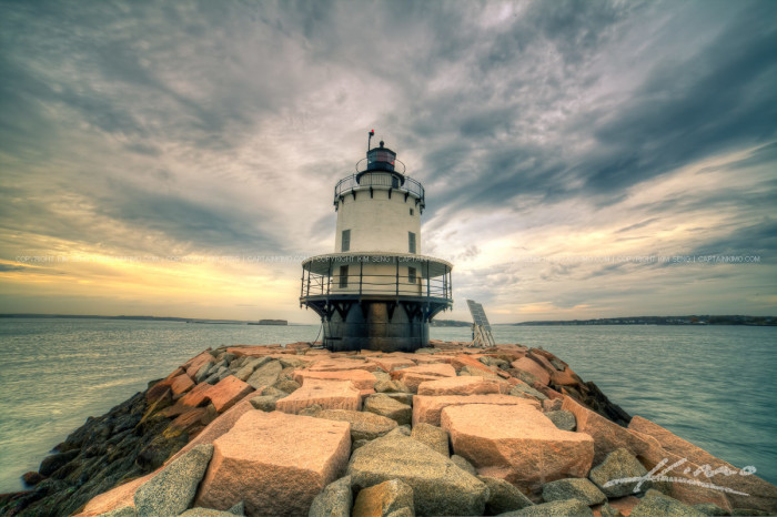 5.... to Spring Point Ledge Lighthouse in South Portland...