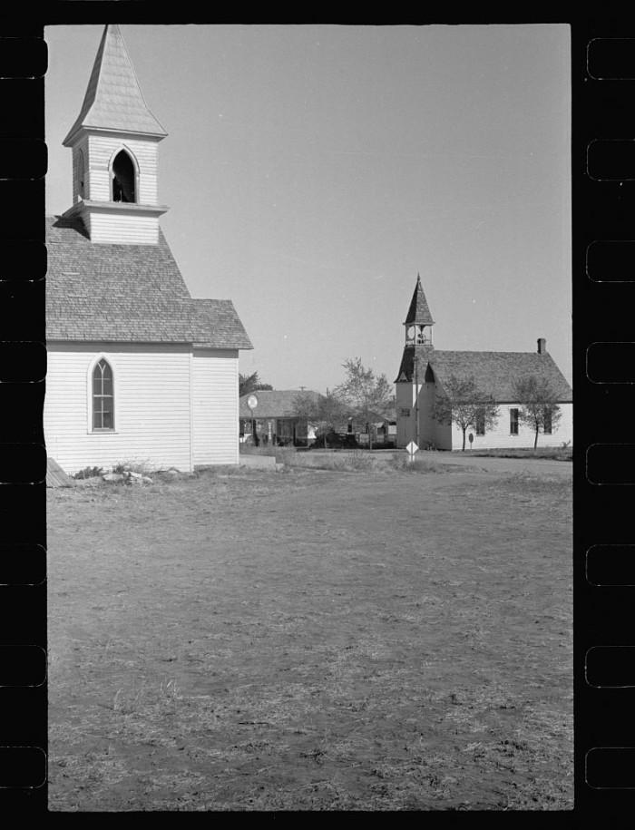 2. Churches, Gilead, Nebraska - 1938