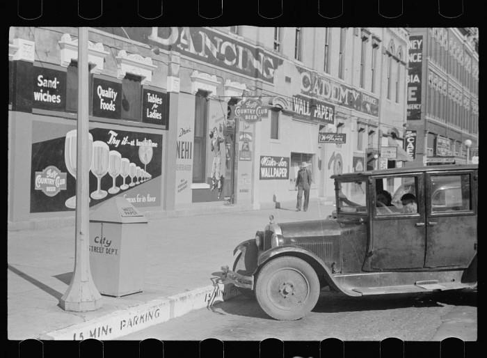 4. Saturday afternoon, Lincoln, Nebraska - 1938
