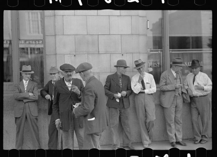 5. Saturday afternoon, Lincoln, Nebraska - 1938