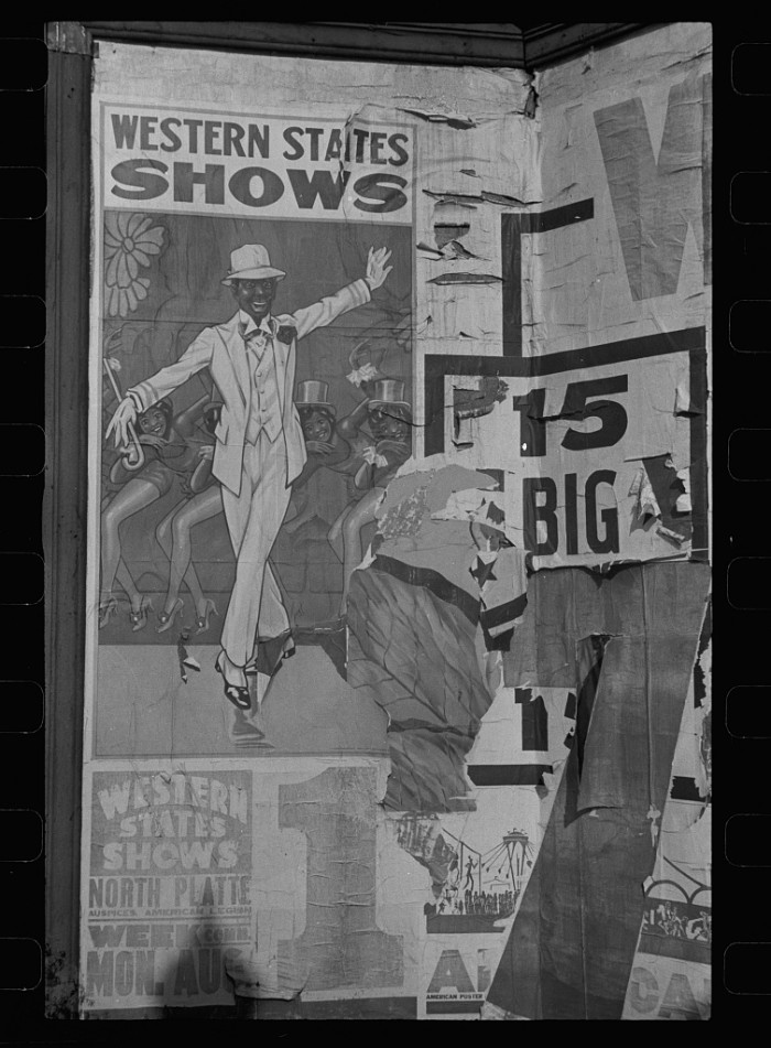 19. Poster, North Platte, Nebraska - 1938