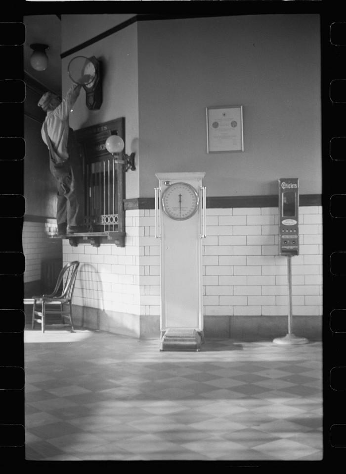 20. Railroad depot, Grand Island, Nebraska - 1938
