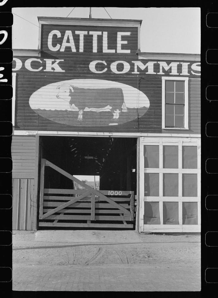 21. Livestock commisary, Grand Island, Nebraska - 1938