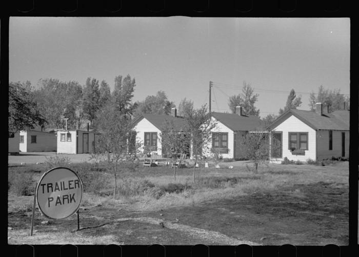 10. This trailer park in Lexington looks a lot like modern trailer parks - 1938.