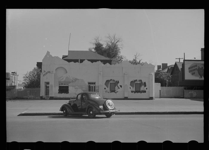 24. Ice cream, Lincoln, Nebraska - 1938
