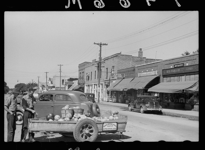 1. Minnesota's small towns were bustling and recovering from the Great Depression.