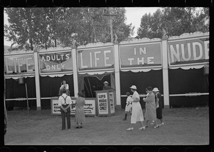 16.  Midway attraction, State Fair, Rutland.